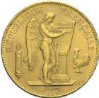 Photo numismatique  MONNAIES MODERNES FRANÇAISES 3ème REPUBLIQUE (4 septembre 1870-10 juillet 1940)  100 francs or, Paris 1911.