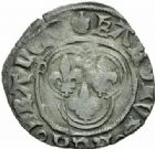Photo numismatique  MONNAIES ROYALES FRANCAISES CHARLES VIII (20 août 1483-7 avril 1498)  Double tournois de Dijon (11 septembre 1483).
