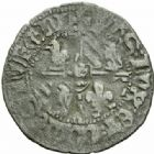 Photo numismatique  MONNAIES BARONNIALES Duché de BOURGOGNE PHILIPPE LE BON (1419-1467) Anserne de Saint-Laurent.