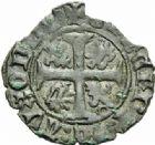 Photo numismatique  MONNAIES BARONNIALES Duché de BOURGOGNE PHILIPPE LE BON (1419-1467) Anserne ou engrogne d'Auxonne avec Comes, 3ème type.