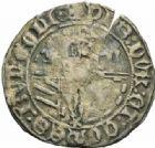 Photo numismatique  MONNAIES BARONNIALES Duché de BOURGOGNE PHILIPPE LE BON (1419-1467) Double tournois d'Auxonne avec Dux et Comes, frappé après 1430.