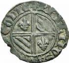 Photo numismatique  MONNAIES BARONNIALES Duché de BOURGOGNE PHILIPPE LE BON (1419-1467) Double tournois de Saint-Laurent avec Dux.