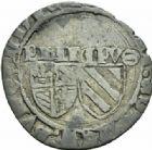 Photo numismatique  MONNAIES BARONNIALES Duché de BOURGOGNE PHILIPPE LE BON (1419-1467) Blanc aux deux écus d'Auxonne.
