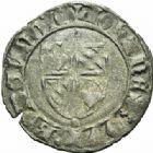 Photo numismatique  MONNAIES BARONNIALES Duché de BOURGOGNE JEAN SANS PEUR (1404-1419) Grand blanc ou guénar (à partir de 1417). Sans différent d'atelier.
