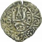 Photo numismatique  MONNAIES BARONNIALES Duché de BOURGOGNE EUDES IV (1315-1349) 368- Double ou maille noire au petit écu.
