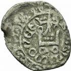 Photo numismatique  MONNAIES BARONNIALES Duché de BOURGOGNE EUDES IV (1315-1349) 360- Tiers de gros ou maille tierce au petit écu.