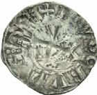 Photo numismatique  MONNAIES BARONNIALES Duché de BOURGOGNE HUGUES II (1102-1143)  Denier, Dijon.