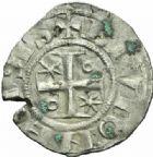 Photo numismatique  MONNAIES BARONNIALES Duché de BOURGOGNE HUGUES II (1102-1143)  Denier, Dijon.