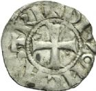 Photo numismatique  MONNAIES BARONNIALES Duché de BOURGOGNE EUDES Ier (1079-1102)  Denier, Dijon er type.