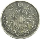 Photo numismatique  MONNAIES MONNAIES DU MONDE JAPON ERE MEIJI, Mutsuhito (1867-1912) 1 yen de l'an 3.