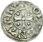 Photo numismatique  MONNAIES BARONNIALES Seigneurie de SAINT-AIGNAN ANONYMES (XIIe siècle) Obole.