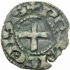 Photo numismatique  MONNAIES BARONNIALES Comté du PERCHE (Anonymes vers 1160-1180) Obole.
