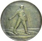 Photo numismatique  MEDAILLES MÉDAILLES MEDAILLES CONCERNANT BOURGOGNE ET FRANCHE-COMTE Médaille de H. Bouchard Le semeur.
