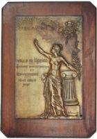 Photo numismatique  MEDAILLES MÉDAILLES MEDAILLES CONCERNANT BOURGOGNE ET FRANCHE-COMTE Médaille de G. Delorme Mâcon, concours international de gymnastique des 14-15 août 1898, épreuve du 1er type.