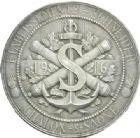 Photo numismatique  MEDAILLES MEDAILLES MEDAILLES CONCERNANT BOURGOGNE ET FRANCHE-COMTE Médaille de H. Lefebvre Ets Schneider - Le submersible Armide, 1916.