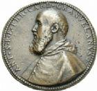 Photo numismatique  MEDAILLES MÉDAILLES MEDAILLES CONCERNANT BOURGOGNE ET FRANCHE-COMTE Perrenot de Granvelle Antoine PERRENOT de GRANVELLE remet l'étendard pour la guerre contre les Turcs.