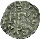 Photo numismatique  MONNAIES ROYALES FRANCAISES LOUIS VI (29 juillet 1108-1er août 1137)  Denier, Paris 2ème type.