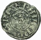 Photo numismatique  MONNAIES ROYALES FRANCAISES PHILIPPE II AUGUSTE (1180-1223)  Denier, Bourges 2ème type.