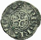 Photo numismatique  MONNAIES ROYALES FRANCAISES PHILIPPE II AUGUSTE (1180-1223)  Denier, Bourges 2ème type.