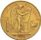 Photo numismatique  MONNAIES MODERNES FRANÇAISES 3ème REPUBLIQUE (4 septembre 1870-10 juillet 1940)  100 francs or, 1913.