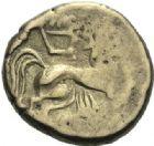 Photo numismatique  ARCHIVES VENTE 2015 -19 juin GAULE - CELTES PICTONES (région de Poitiers)  Statère d'or très bas.