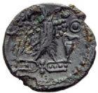 Photo numismatique  ARCHIVES VENTE 2015 -19 juin GAULE - CELTES CARNUTES (région de Chartres)  Bronze à l'aigle.
