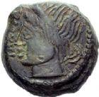 Photo numismatique  ARCHIVES VENTE 2015 -19 juin GAULE - CELTES AULERQUES EBUROVICES (région d'Evreux)  Bronze de Pixtilos à la louve.