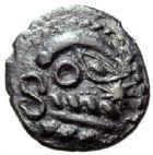 Photo numismatique  ARCHIVES VENTE 2015 -19 juin GAULE - CELTES BELLOVACI-AMBIANI (su-ouest Somme et vallée de l'Oise)  Quinaire ou denier.