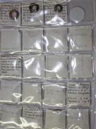 Photo numismatique  ARCHIVES VENTE 2015 -19 juin ROUELLES ANNEAUX FUSAÏOLES   Lot de 24 objets.
