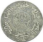 Photo numismatique  MONNAIES MONNAIES DU MONDE MAROC ABDUL AZIZ Ier (1894-1908) 10 dirhams ou rial de 1313.