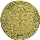 Photo numismatique  ARCHIVES VENTE 2015 -19 juin ROYALES FRANCAISES PHILIPPE VI DE VALOIS(1er avril 1328-22 août 1350)  Ecu d'or à la chaise de la 5ème émission (11 mars 1349).
