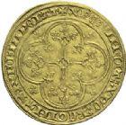 Photo numismatique  ARCHIVES VENTE 2015 -19 juin ROYALES FRANCAISES PHILIPPE VI DE VALOIS(1er avril 1328-22 août 1350)  Ecu d'or à la chaise de la 5ème émission (11 mars 1349).