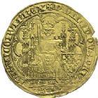 Photo numismatique  ARCHIVES VENTE 2015 -19 juin ROYALES FRANCAISES PHILIPPE VI DE VALOIS(1er avril 1328-22 août 1350)  Ecu d'or à la chaise de la 6ème émission (6 mai 1349).