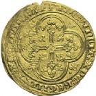 Photo numismatique  ARCHIVES VENTE 2015 -19 juin ROYALES FRANCAISES PHILIPPE VI DE VALOIS(1er avril 1328-22 août 1350)  Ecu d'or à la chaise de la 6ème émission (6 mai 1349).