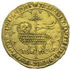 Photo numismatique  ARCHIVES VENTE 2015 -19 juin ROYALES FRANCAISES JEAN II LE BON (22 août 1350-18 avril 1364)  Mouton d'or (17 janvier 1355).