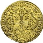 Photo numismatique  ARCHIVES VENTE 2015 -19 juin ROYALES FRANCAISES JEAN II LE BON (22 août 1350-18 avril 1364)  Mouton d'or (17 janvier 1355).