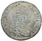 Photo numismatique  ARCHIVES VENTE 2015 -19 juin ROYALES FRANCAISES LOUIS XIV (14 mai 1643-1er septembre 1715)  Ecu aux 8 L du 1er type, Bordeaux 1690.