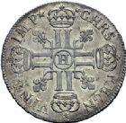 Photo numismatique  ARCHIVES VENTE 2015 -19 juin ROYALES FRANCAISES LOUIS XIV (14 mai 1643-1er septembre 1715)  Ecus aux 8 L du 1er type, Rennes 1690, 1691, La Rochelle 1692.