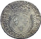 Photo numismatique  ARCHIVES VENTE 2015 -19 juin ROYALES FRANCAISES LOUIS XIV (14 mai 1643-1er septembre 1715)  Ecu aux palmes, La Rochelle 1694.