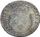 Photo numismatique  ARCHIVES VENTE 2015 -19 juin ROYALES FRANCAISES LOUIS XIV (14 mai 1643-1er septembre 1715)  Ecu aux palmes, La Rochelle 1694.