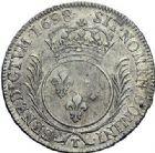 Photo numismatique  ARCHIVES VENTE 2015 -19 juin ROYALES FRANCAISES LOUIS XIV (14 mai 1643-1er septembre 1715)  Ecu aux palmes, Nantes 1698.