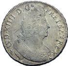Photo numismatique  ARCHIVES VENTE 2015 -19 juin ROYALES FRANCAISES LOUIS XIV (14 mai 1643-1er septembre 1715)  Ecus aux palmes, Rennes 1697.
