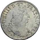Photo numismatique  ARCHIVES VENTE 2015 -19 juin ROYALES FRANCAISES LOUIS XIV (14 mai 1643-1er septembre 1715)  Ecus aux 8 L du 2ème type, Rennes 1704.