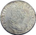 Photo numismatique  ARCHIVES VENTE 2015 -19 juin ROYALES FRANCAISES LOUIS XIV (14 mai 1643-1er septembre 1715)  Ecus aux 8 L du 2ème type, Rennes 1704, Bordeaux 1704.