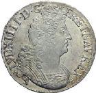 Photo numismatique  ARCHIVES VENTE 2015 -19 juin ROYALES FRANCAISES LOUIS XIV (14 mai 1643-1er septembre 1715)  Ecus aux 8 L du 2ème type, Rennes 1705 (2), 1709.