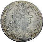 Photo numismatique  ARCHIVES VENTE 2015 -19 juin ROYALES FRANCAISES LOUIS XIV (14 mai 1643-1er septembre 1715)  Ecu aux 8 L du 2ème type, Rennes 1705.