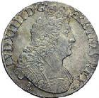 Photo numismatique  ARCHIVES VENTE 2015 -19 juin ROYALES FRANCAISES LOUIS XIV (14 mai 1643-1er septembre 1715)  Ecus aux 8 L du 2ème type, Rennes 1708, 1709 (2).