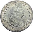 Photo numismatique  ARCHIVES VENTE 2015 -19 juin ROYALES FRANCAISES LOUIS XIV (14 mai 1643-1er septembre 1715)  Lot de 6 monnaies.
