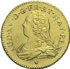 Photo numismatique  ARCHIVES VENTE 2015 -19 juin ROYALES FRANCAISES LOUIS XV (1er septembre 1715-10 mai 1774)  Louis aux lunettes, Aix 1726.