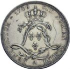 Photo numismatique  ARCHIVES VENTE 2015 -19 juin ROYALES FRANCAISES LOUIS XVI (10 mai 1774–21 janvier 1793)  Essai de l'écu de Calonne, Paris 1786.